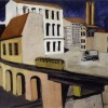 SIRONI MARIO_Paesaggio urbano, 1950
