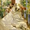SOROLLA Y BASTIDA JOAQUIN_Cucendo la vela, 1896