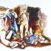 RENATO GUTTUSO (Bagheria 1912 – Roma 1987), Gott mit uns - Fucilazione, 1945/81