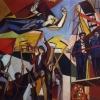 ARMANDO PIZZINATO (Maniago 1910 – Venezia 2004), Un fantasma percorre l'Europa, 1949-50