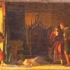 Marino Pompeo Molmenti (1819 – 1894) La morte di Otello-(studio, 2a versione), 1866 ca