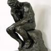Auguste Rodin (1840 – 1917), Il pensatore, 1880