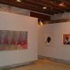 Sale espositive della mostra di SHOZO SHIMAMOTO al piano terra del Museo