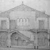 Spaccato del progetto della Pescheria di Rialto, 1908