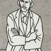 Roy Lichtenstein Man with Folded Arms, 1962