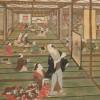 Gli interni nella pittura giapponese