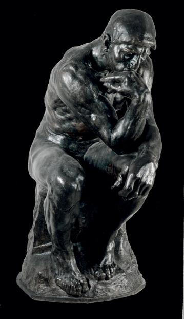 """Auguste Rodin , """"Il pensatore"""", 1880"""