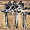 Untitled, 1951 Pittura murale su tela,101.6 x 121.9 cm Cy Twombly Foundation