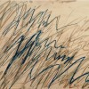 Untitled, 1971 Olio, pastello a cera e matita su carta, 70.3 x 100.1 cm Cy Twombly Foundation