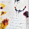 Untitled, 1992 Acrilico, oil stick, matita colorata e matita su legno, a235 x 172.2 cm Cy Twombly Foundation