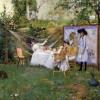 WILLIAM MERRITT CHASE The Open Air Breakfast (1888c.), © Toledo Museum of Art